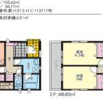 【新築木造一戸建て】宜野湾市大山:全3棟 【残り1棟】
