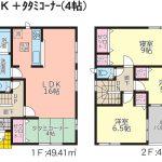 【木造新築一戸建て】うるま市田場第3:全2棟 【2号棟】